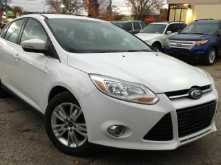 Used 2012 Ford Focus 4DR SDN SEL for sale in Waterloo, ON