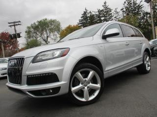 Used 2014 Audi Q7 quattro 4dr 3.0L TDI Technik for sale in Burlington, ON