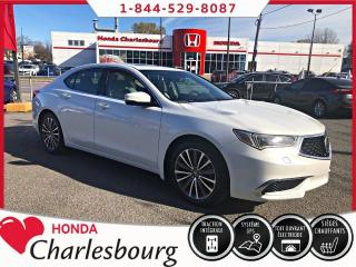 Used 2018 Acura TLX V6 SH-AWD GROUPE TECHNOLOGIE for sale in Charlesbourg, QC