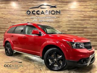 Used 2015 Dodge Journey Crossroad 7 PLACES AWD CUIR DVD for sale in Ste-Brigitte-de-Laval, QC