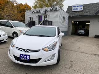 Used 2016 Hyundai Elantra 4dr Sdn Auto GLS for sale in Brampton, ON