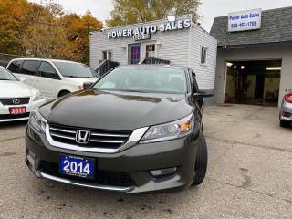 Used 2014 Honda Accord Sedan 4dr I4 CVT EX-L for sale in Brampton, ON