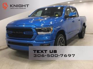 New 2021 RAM 1500 Sport Crew Cab | Leather | Sunroof | Navigation | for sale in Regina, SK