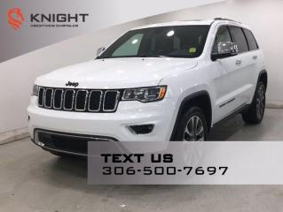 Used 2018 Jeep Grand Cherokee Limited | Leather | Sunroof | Navigation | for sale in Regina, SK