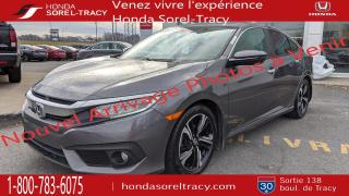 Used 2016 Honda Civic TOURING CUIR GPS TOIT HONDA SENSING 66.3 for sale in Sorel-Tracy, QC