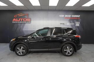 Used 2018 Toyota RAV4 LE AUTO MAGS CAMERA SIÈGES CAM BLUETOOTM 46 305 KM for sale in Lévis, QC