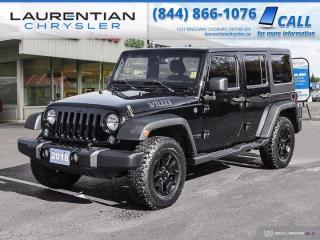 Used 2018 Jeep Wrangler JK Unlimited Sport!!  4X4!!  TRAIL RATED!! for sale in Sudbury, ON