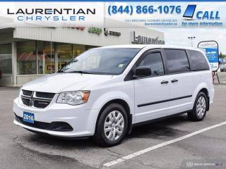 Used 2016 Dodge Grand Caravan Canada Value Package!! for sale in Sudbury, ON