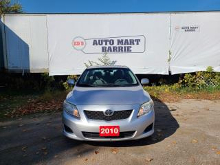 Used 2010 Toyota Corolla CE for sale in Barrie, ON