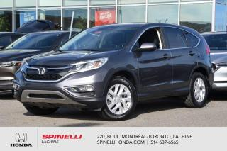 Used 2016 Honda CR-V SE AWD TRES BAS KM AWD MAGS DEMARRAGE SANS CLE BLUETOOTH++ for sale in Lachine, QC