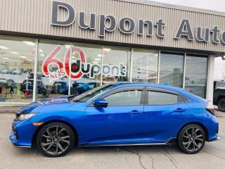 Used 2017 Honda Civic Sport 5 portes BM for sale in Alma, QC