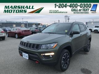 Used 2019 Jeep Compass Trailhawk 4x4 *Back-Up Cam** Heated Seats**Bluetooth** for sale in Brandon, MB