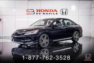 Used 2017 Honda Accord TOURING + V6 + NAVI + CUIR + MAGS + WOW! for sale in St-Basile-le-Grand, QC
