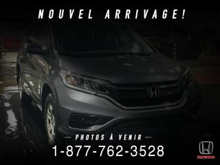 Used 2016 Honda CR-V LX + A/C + CRUISE + GR ELECTRIQUE + WOW! for sale in St-Basile-le-Grand, QC