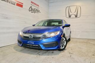 Used 2017 Honda Civic 4 portes, boîte manuelle, LX for sale in Blainville, QC