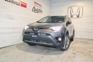 Used 2017 Toyota RAV4 Traction intégrale 4 portes Limited for sale in Blainville, QC