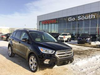 Used 2017 Ford Escape 2.0L, TITANIUM, 4WD, LEATHER for sale in Edmonton, AB