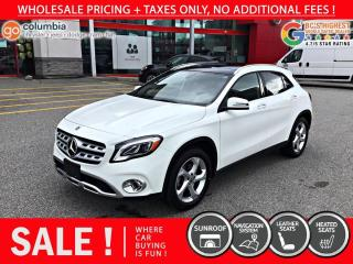 Used 2020 Mercedes-Benz GLA GLA 250 4MATIC - No Accident / Local / Nav / One Owner for sale in Richmond, BC