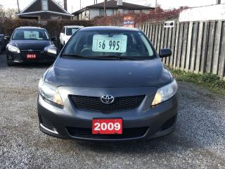 Used 2009 Toyota Corolla CEo for sale in Hamilton, ON