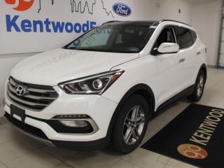 Used 2018 Hyundai Santa Fe Sport Sport AWD | Heated Seats | Sunroof | Back Up Camera for sale in Edmonton, AB