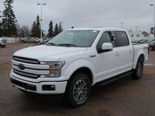 New 2020 Ford F-150 Lariat 502A | 4X4 Supercrew | 3.5L Ecoboost | Auto Start/Stop | Heated Seats/Heated Steering Wheel | Lane Keeping System | Pre-Collision Assist | Rear View Camera | Trailer Tow Package | Navigation | for sale in Edmonton, AB
