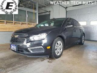 Used 2016 Chevrolet Cruze LT/REVERSE CAMERA/WEATHER TECH MATS!! for sale in Barrie, ON