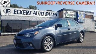 Used 2014 Toyota Corolla LE ECO Upgrade Pkg/SUNROOF/REVERSE CAMERA!! for sale in Barrie, ON