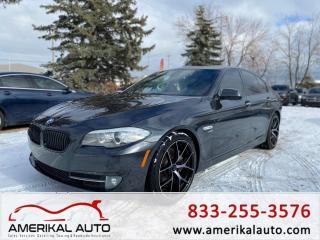 Used 2011 BMW 5 Series 550i xDrive for sale in Winnipeg, MB
