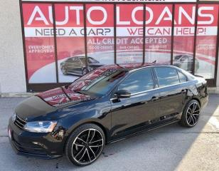 Used 2017 Volkswagen Jetta Wolfsburg Edition-ALL CREDIT ACCEPTED for sale in Toronto, ON