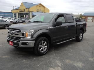 Used 2018 Ford F-150 XLT CrewCab XTR 4x4 3.3.L 5.5ft Box BackUpCam for sale in Brantford, ON