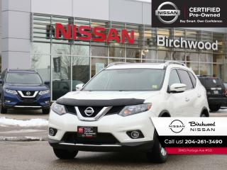 Used 2016 Nissan Rogue SV AWD Heated Seats, Sunroof, Low KMs, No Accidents for sale in Winnipeg, MB