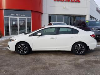 Used 2014 Honda Civic EX Locally Owned, sunroof for sale in Winnipeg, MB