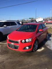 Used 2012 Chevrolet Sonic LT for sale in North Bay, ON