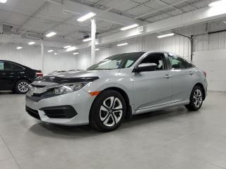 Used 2018 Honda Civic LX - CAMERA + BLUETOOTH + SIEGES CHAUFFANTS !!! for sale in Saint-Eustache, QC
