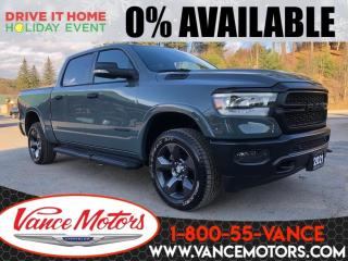 New 2021 RAM 1500 Built to Serve 4X4...HTD SEATS*NAV*BEDLINER! for sale in Bancroft, ON