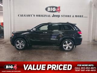 Used 2015 Jeep Grand Cherokee Overland 4WD for sale in Calgary, AB