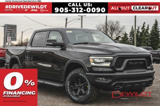 New 2021 RAM 1500 REBEL | PANO ROOF | AIR RIDE | TECH GROUP | for sale in Hamilton, ON