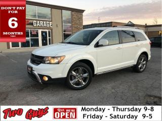 Used 2017 Dodge Journey Crossroad | AWD | 7 Pass | Bluetooth | Htd Leather for sale in St Catharines, ON