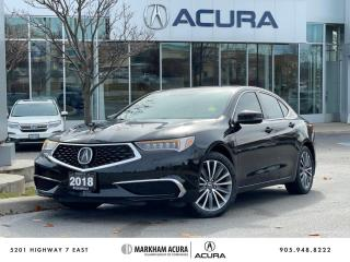 Used 2018 Acura TLX 3.5L SH-AWD w/Tech Pkg for sale in Markham, ON