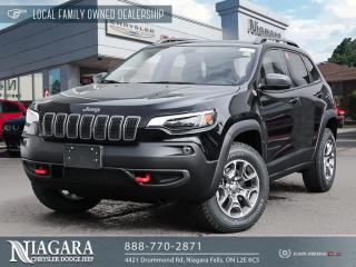 New 2021 Jeep Cherokee Trailhawk Elite for sale in Niagara Falls, ON