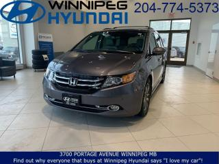 Used 2016 Honda Odyssey Touring for sale in Winnipeg, MB