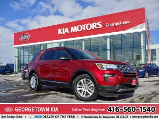 Used 2018 Ford Explorer XLT 4WD | LTHR| ROOF| BU CAM | HITCH | 54K| 7 PASS for sale in Georgetown, ON