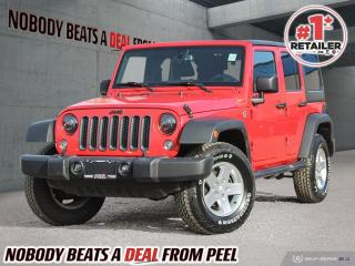 Used 2015 Jeep Wrangler Unlimited 4WD 4dr Sport for sale in Mississauga, ON
