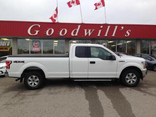 Used 2018 Ford F-150 SUPER CAB! LONG BOX! CLEAN CARFAX! TRAILER BACKUP! for sale in Aylmer, ON