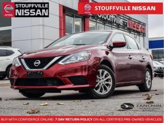 Used 2018 Nissan Sentra SV Tech   NAV  Blind Spot  Moonroof  Clean Carfax for sale in Stouffville, ON