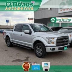 Used 2016 Ford F-150 Lariat w/FX4 package, Navigation, Leather, Backup Camera, Heated for sale in Saskatoon, SK