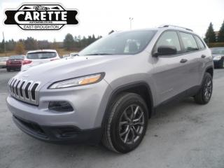 Used 2018 Jeep Cherokee 4X4 for sale in East broughton, QC