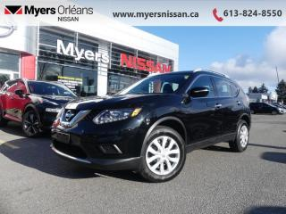 Used 2015 Nissan Rogue S FWD  - Sunroof -  Leather Seats - $136 B/W for sale in Orleans, ON