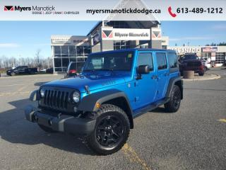 Used 2016 Jeep Wrangler Unlimited Willys Wheeler  - $303 B/W for sale in Ottawa, ON