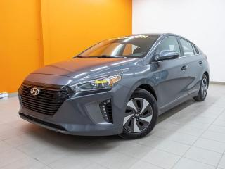 Used 2019 Hyundai Ioniq Hybrid ALERTES SÉCUR ANDROID TOIT *SIÈGES / VOLANT CHAUF* for sale in Mirabel, QC